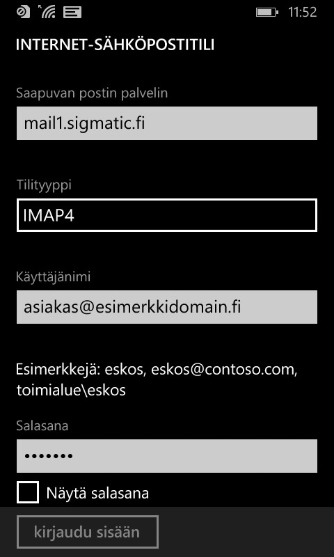 Lumia / Windows Phone - Sigmatic
